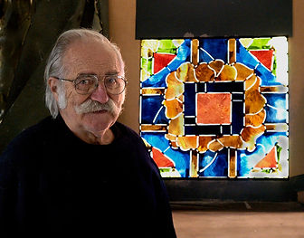 Robert Pinart at Wilmark Stained Glass Studio