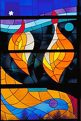 Wilmark stained glass, Mordechai Rosenstein, Jewish stained glass
