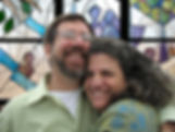 Mark Liebowitz, Nancy Katz, Wilmark, Jewish stained glass studios