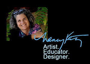 Nancy Katz Artist Educator Designer of Jewish Art