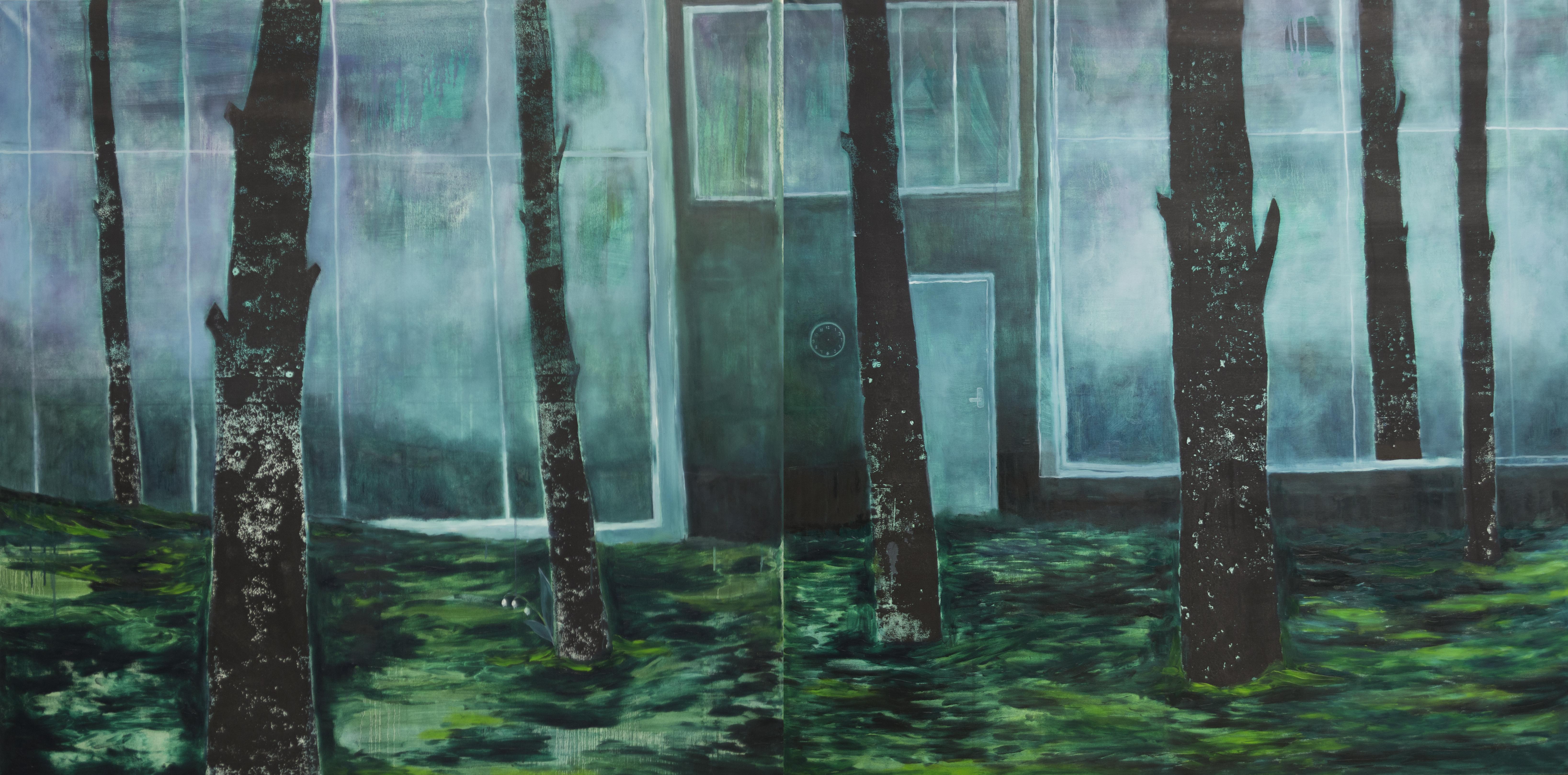 Smaragdinis miškas / 150x300