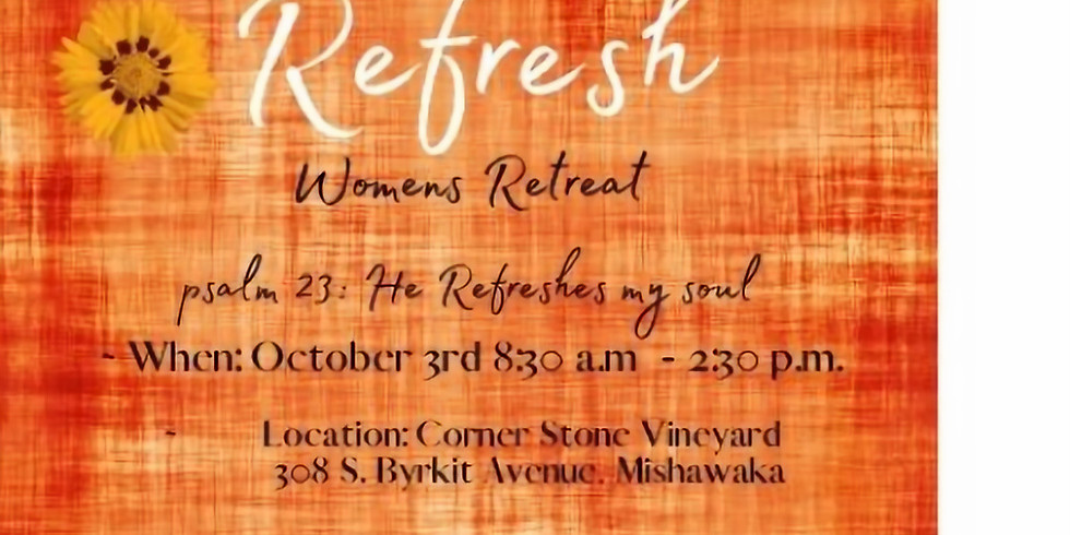 Refresh Women's Retreat