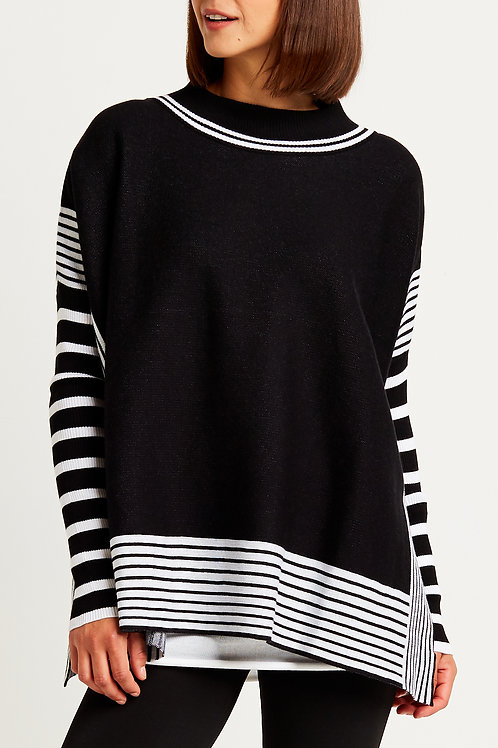 Panel Sweater