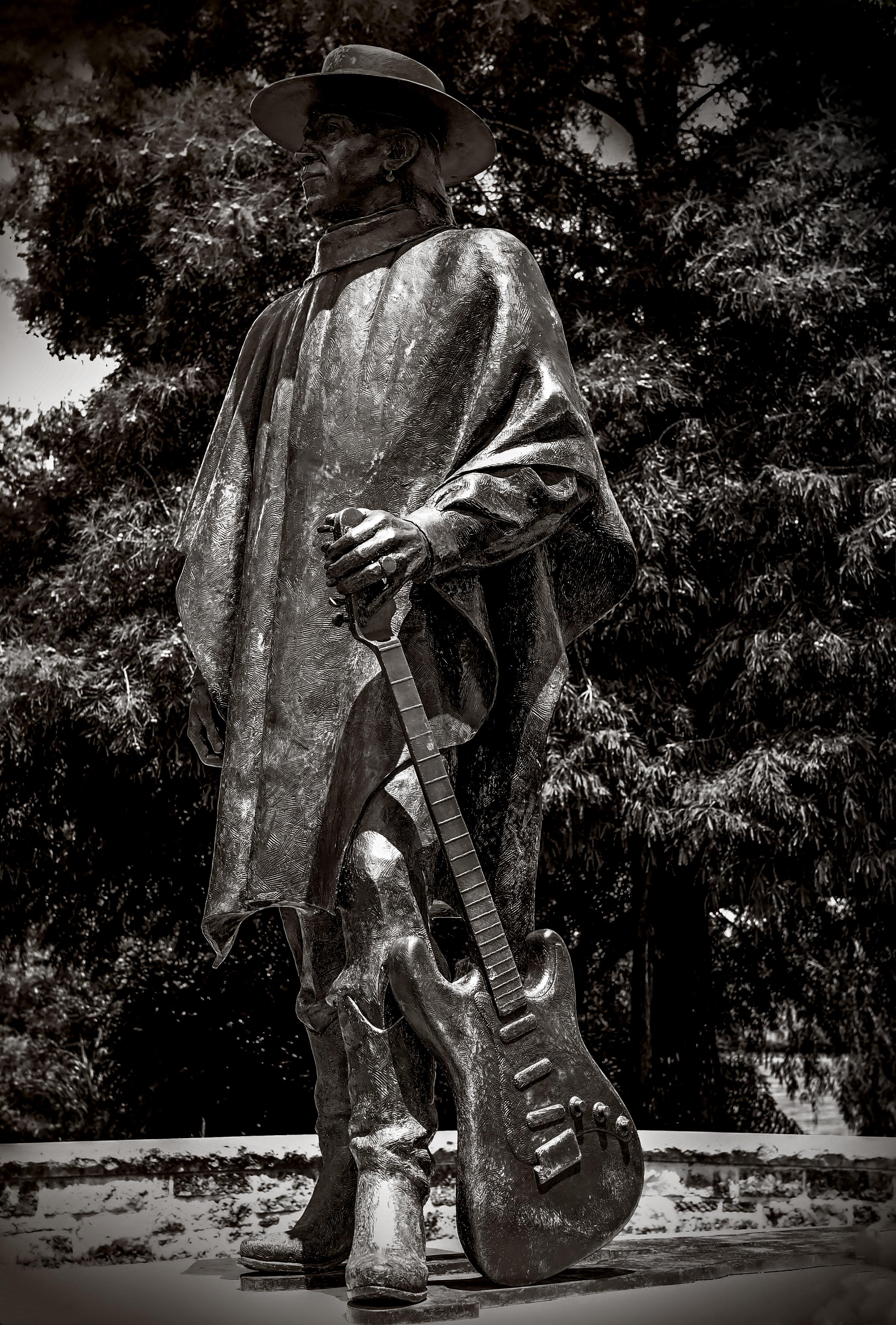 Stevie Ray Vaughan statue, Austin,Tx