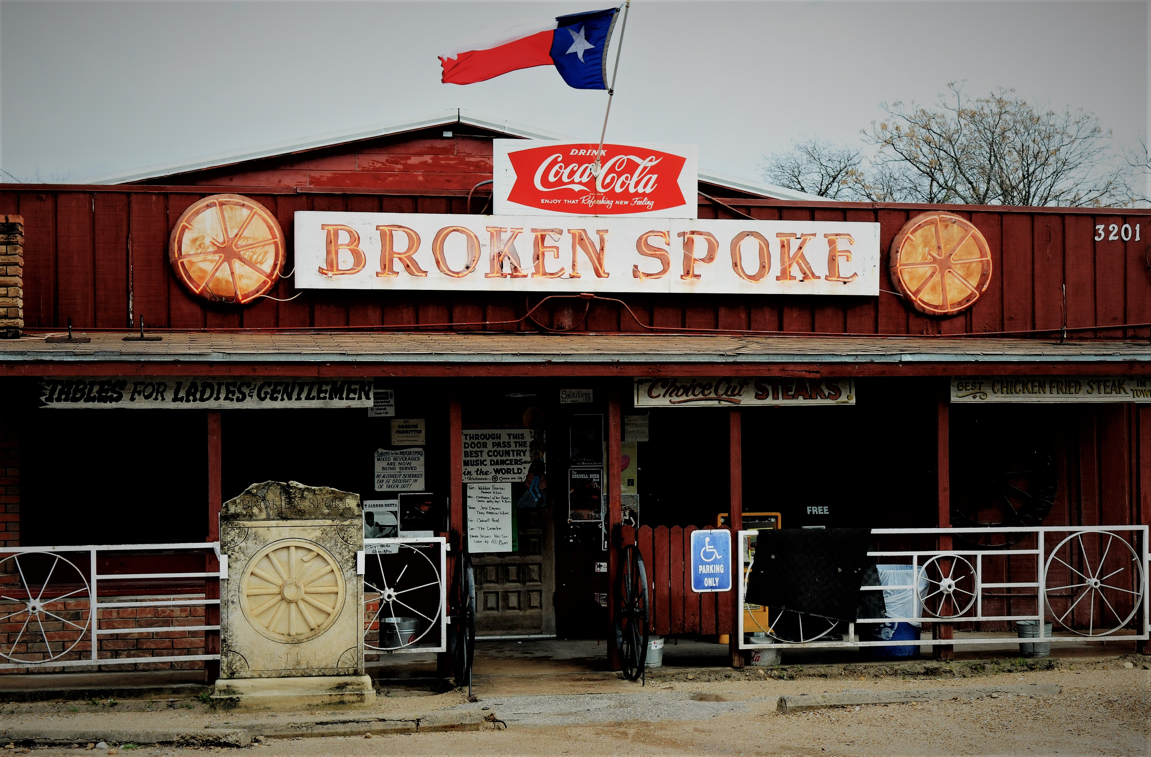 The Broken Spoke in Austin, Tx.