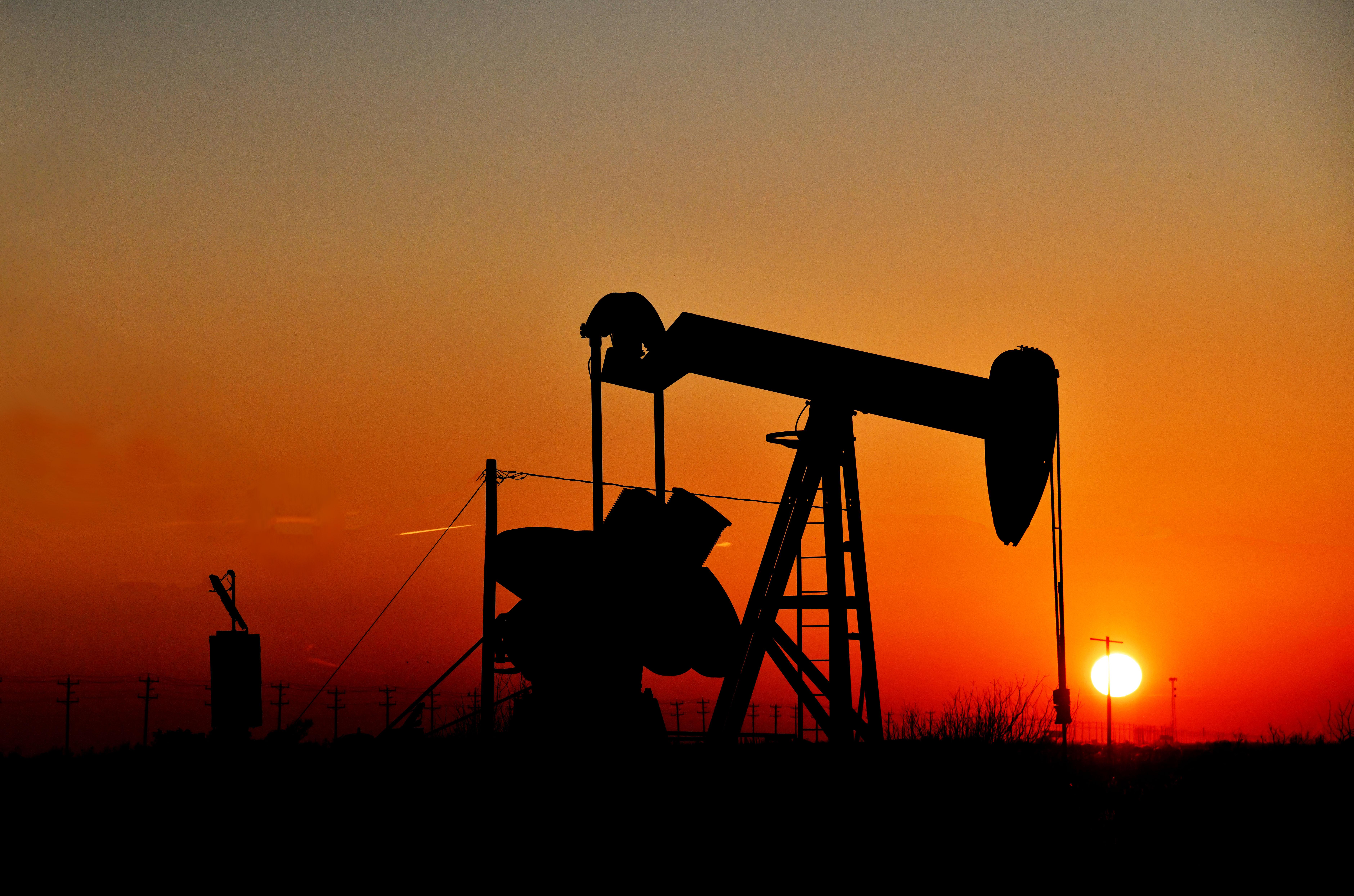 Texas Oil Derrick