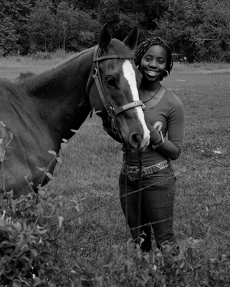 A Daughter and her Horse
