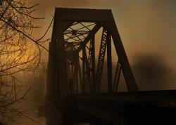 Rail Road Bridge Riverside, Texas