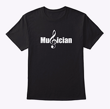 Short sleeve Musician music education t-shirt by Five Minute Mozart.