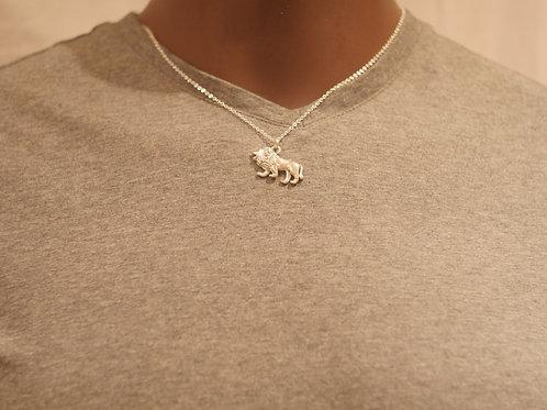 Chain + Lion pendant