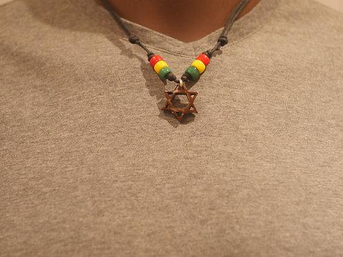 Necklace + Star of David handmade pendant