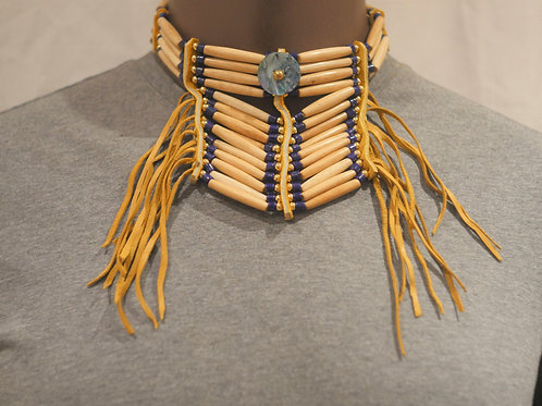 4 row choker + breast plate