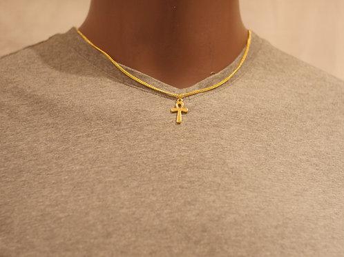 Chain + Ankh pendant