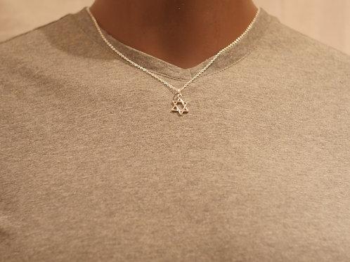Chain + Star of David pendant