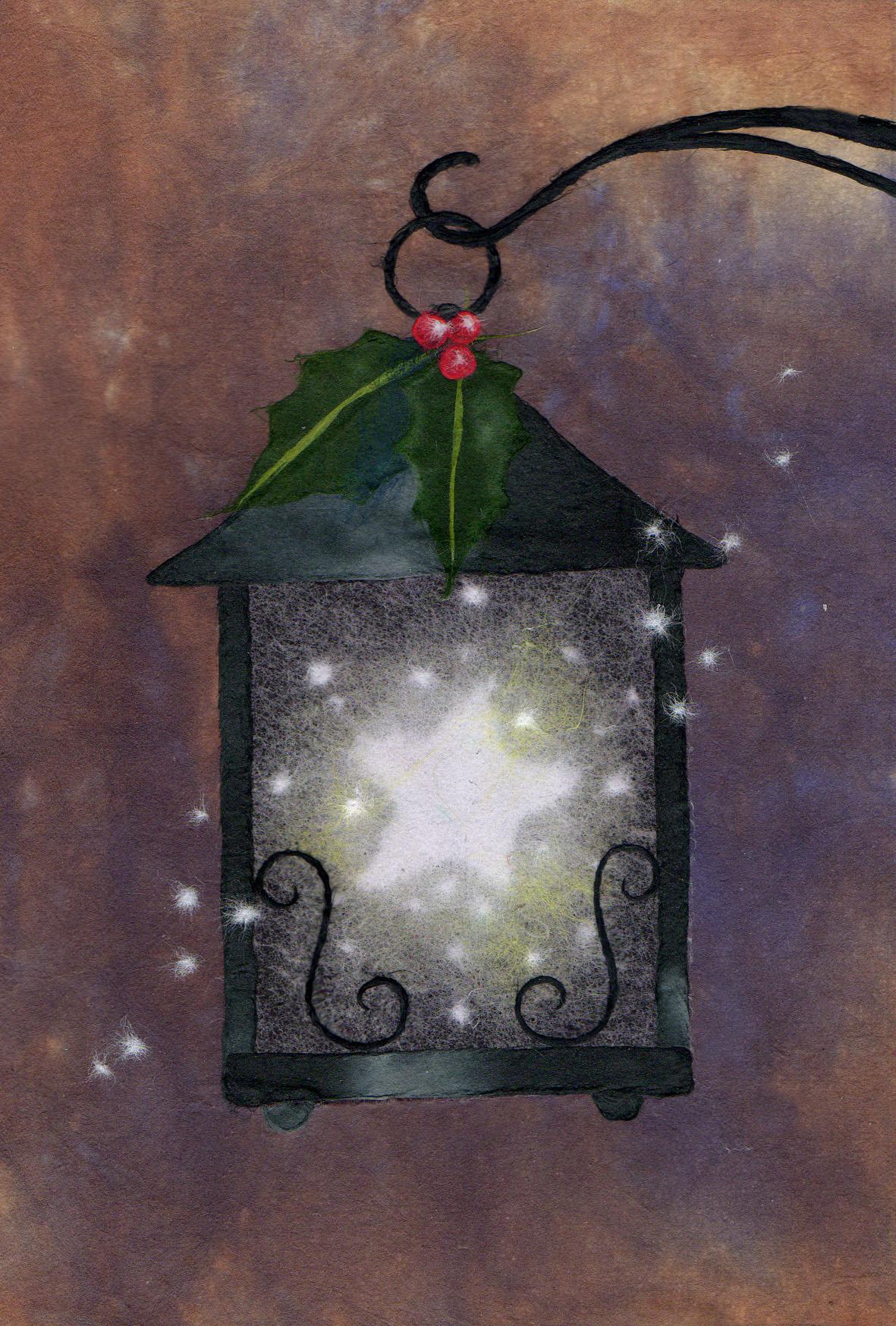 星のランプ