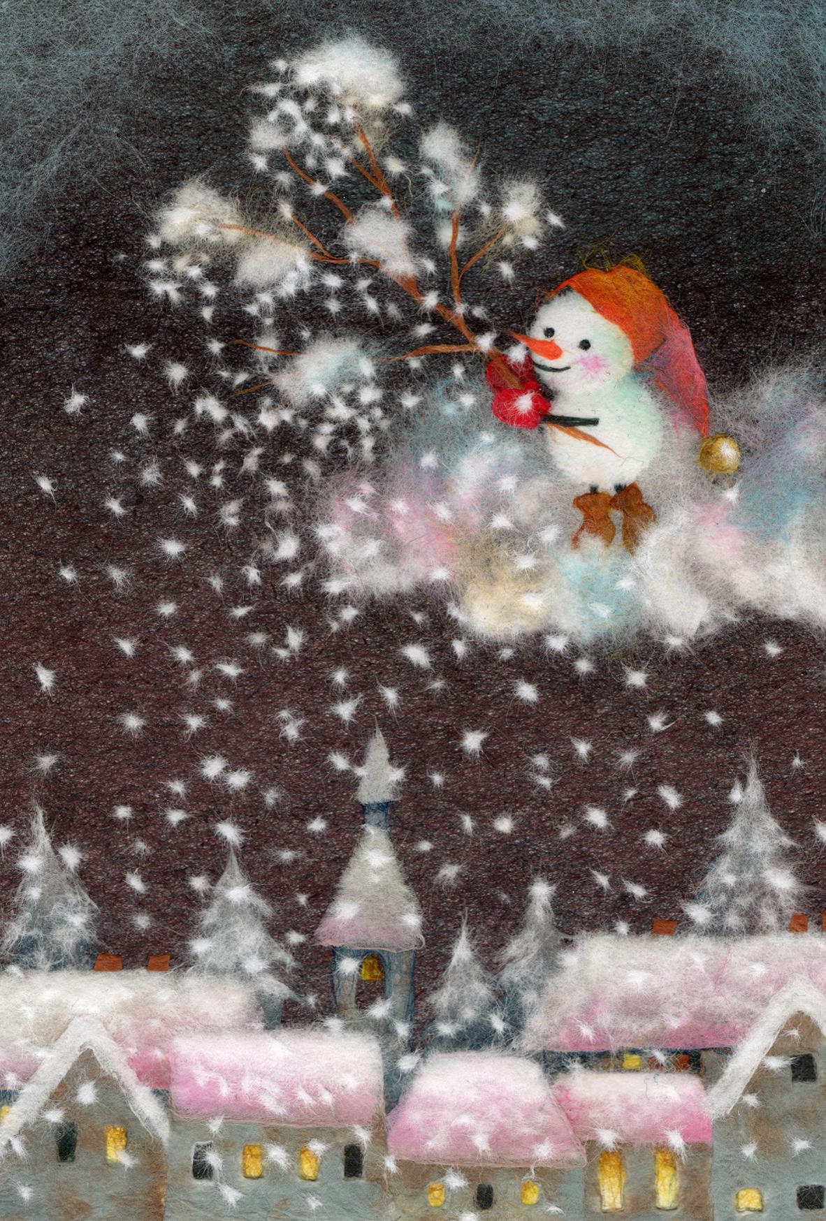 今夜の雪当番