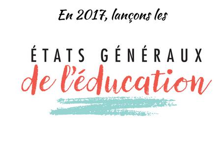 Lancement des états généraux de l'éducation