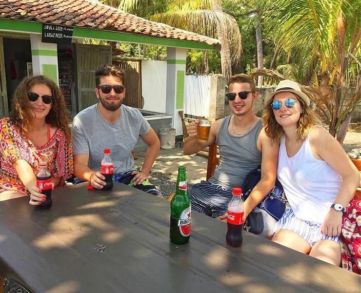 voyage bali photo souveni amis en vacances
