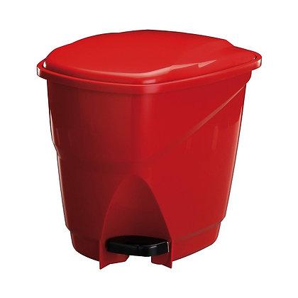 Lixeira Ecológica com Pedal, 16L - Astra vermelho - 070251