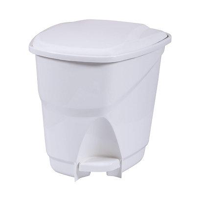 Lixeira Ecológica com Pedal, 16L - Astra branco - 070251