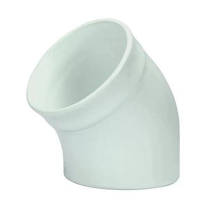Saleiro Gourmet de Porcelana - Oxford Branco - 020074