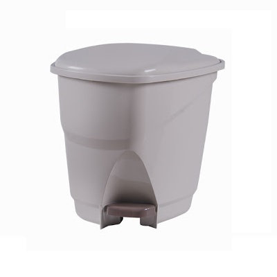 Lixeira Ecológica com Pedal, 16L - Astra bege - 070251