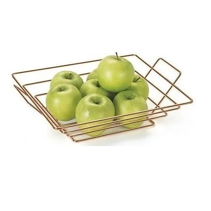 Fruteira de Mesa em Metal Rosé - Arthi - 050310