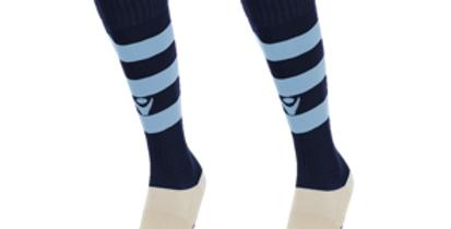 Madras Hoop Socks