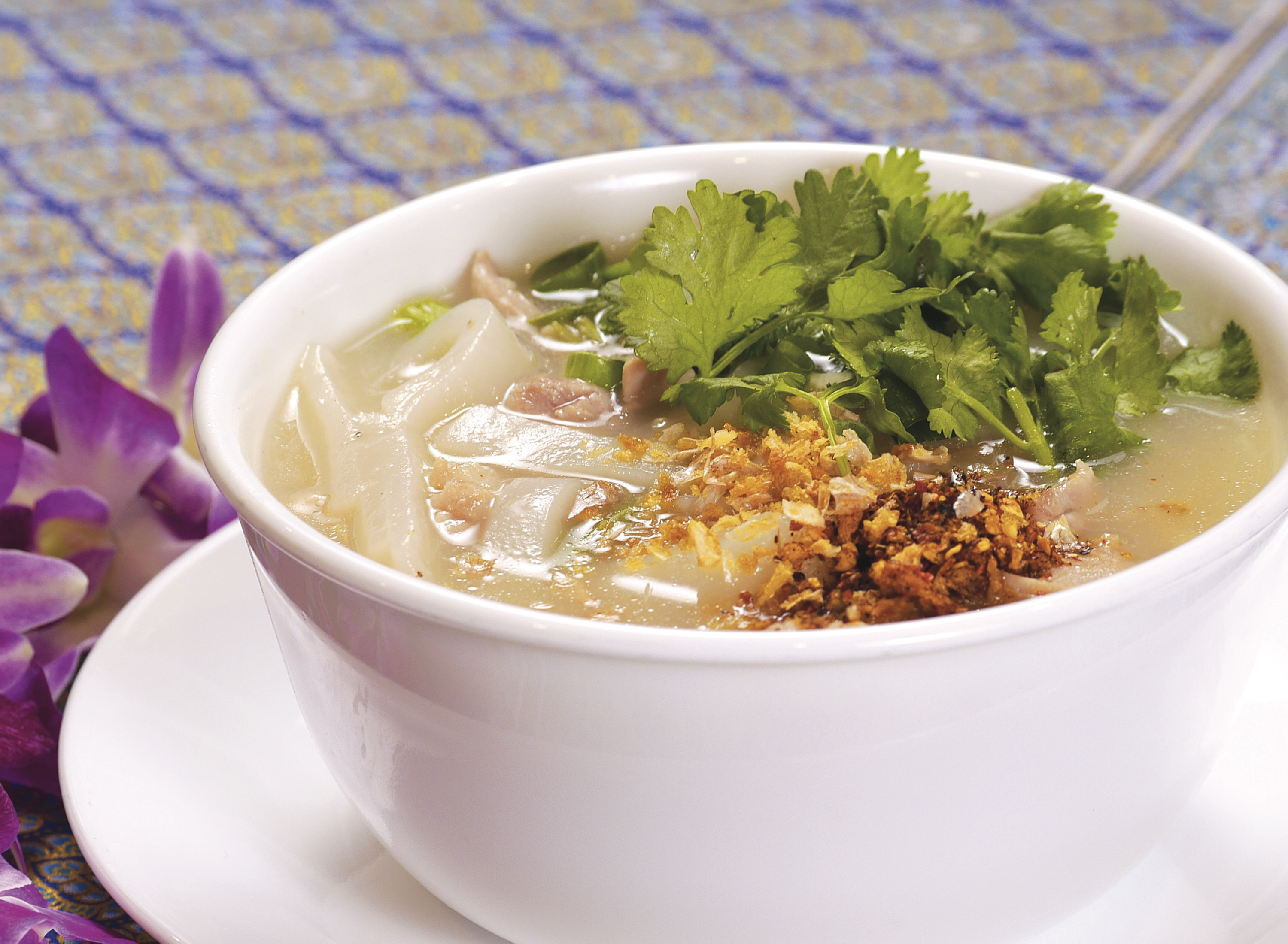 Tom Yum with Handmade Noodle Soup