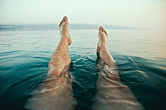 Feetup While Floating
