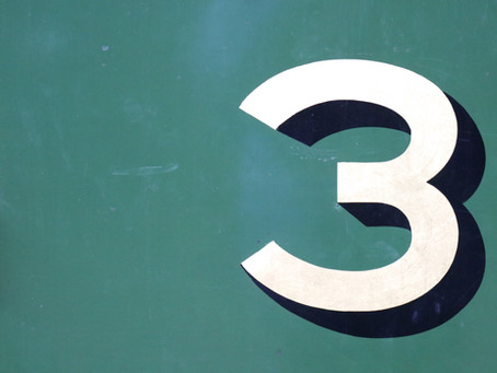 3 Is The Magic Number!