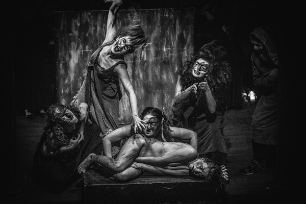 """""""Ifigenia w Taurydzie"""", Teatr Gardzienice, reż. Włodzimierz Staniewski"""