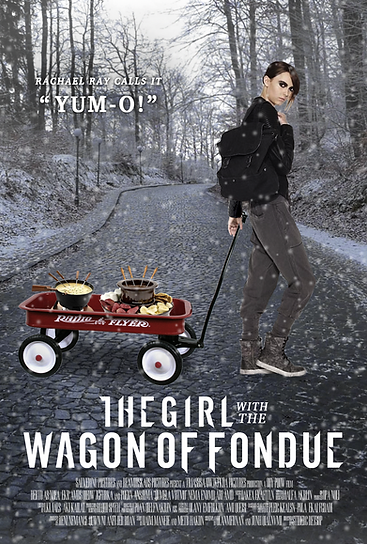 The Girl with the Wagon of Fondue Dragon Tattoo