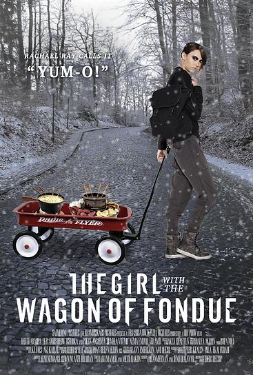 The Girl with the Wagon of Fondue Dragon Tattoo