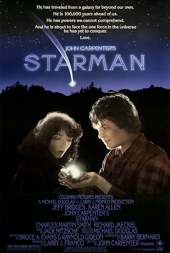 Starman Movie Poster 1984