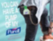 Purell Hand Sanitizer Wallet Chain