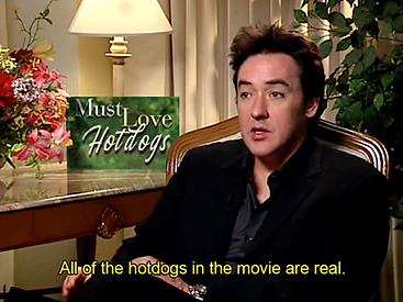 Must Love Hotdogs John Cusack