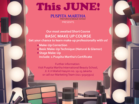 Learn the Basic Make Up Now !