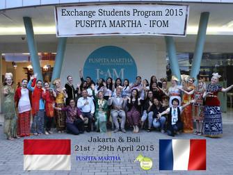 Kunjungan Siswi COFAP - IFOM Prancis Ke Jakarta