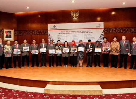 OFFICIAL CLOSING CEREMONY ASEAN SKILL COMPETITION 2016