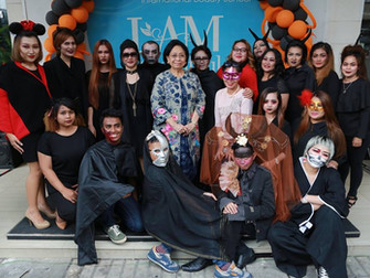 Boo-A-Tiful : Halloween Parade by Puspita Martha International Beauty School