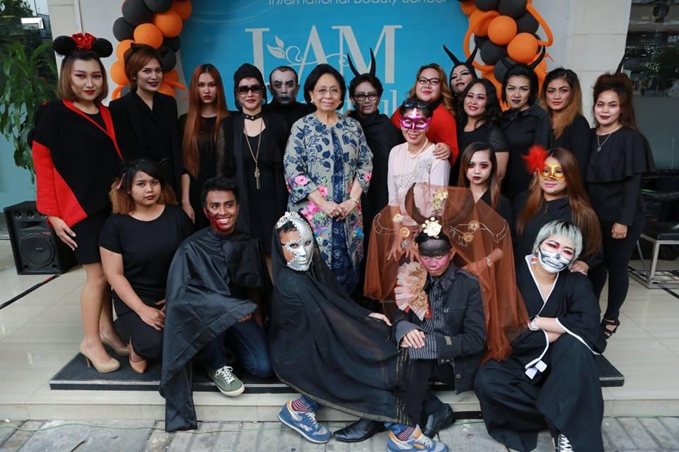 Halloween Parade by Puspita Martha International Beauty School