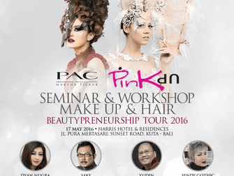Bali Beautypreneurship TOUR 2016 : Seminar & Workshop