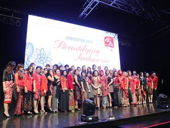 Graduation Day Puspita Martha 2015: Beautifying Indonesia