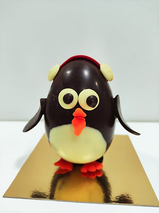 Pingouin avec cache oreilles