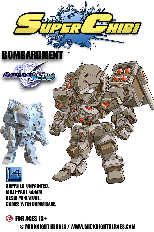 "Super Chibi ""Bombardment"""