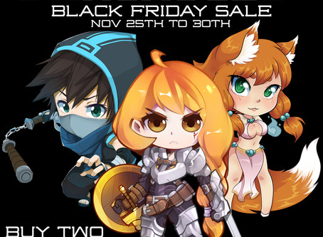 Midknight Heroes Black Friday Sale!