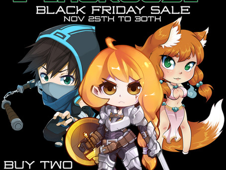 Midknight Heroes Black Friday Sale!