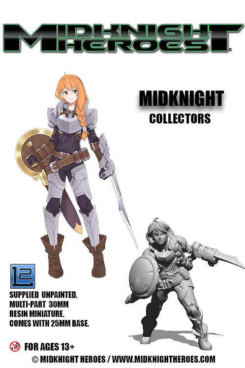 """Collectors Edition """"MidKnight""""70mm"""