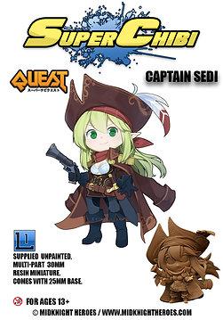 """Super Chibi """" Captain Sedi"""""""